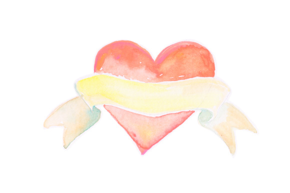 Download Free Watercolor Heart Svg Cut File By Creative Fabrica Crafts for Cricut Explore, Silhouette and other cutting machines.
