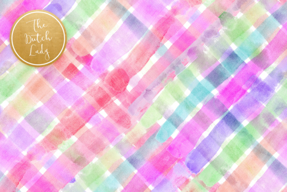 Print on Demand: Watercolor Rainbow Scrapbook Papers Graphic Textures By daphnepopuliers - Image 5