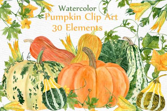 Watercolor Clipart Graphic Illustrations By LeCoqDesign