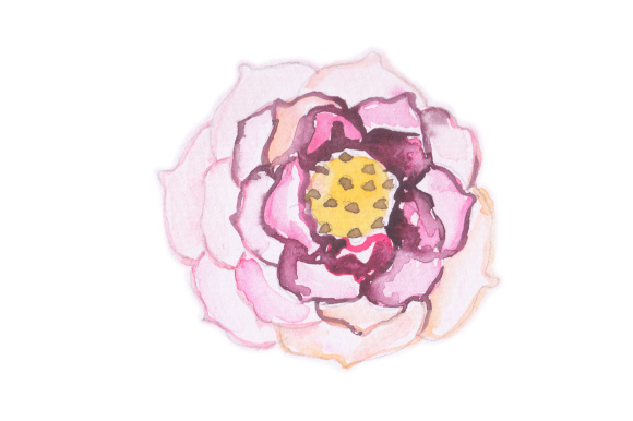 Download Free Watercolor Flower Svg Cut File By Creative Fabrica Crafts for Cricut Explore, Silhouette and other cutting machines.