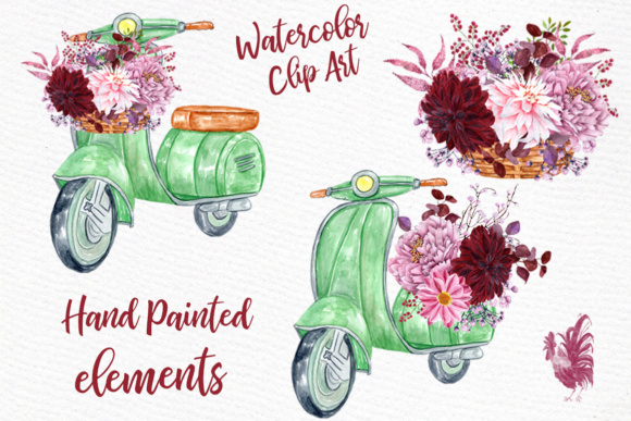 Download Free Watercolor Flowers Clipart Floral Clipart Wedding Invites Wedding for Cricut Explore, Silhouette and other cutting machines.