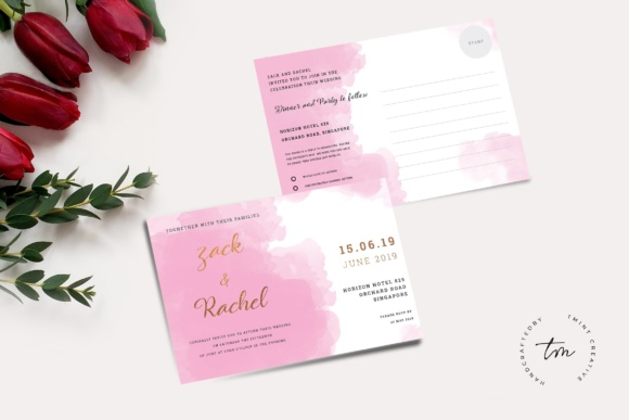 Download Free Business Card Graphic By Tmint Creative Fabrica for Cricut Explore, Silhouette and other cutting machines.