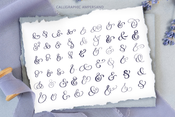 Wedding Vector Calligraphy Graphic Objects By Happy Letters - Image 3