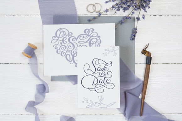 Wedding Vector Calligraphy Graphic Objects By Happy Letters - Image 5