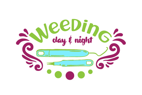 Weeding Day & Night Hobbies Craft Cut File By Creative Fabrica Crafts