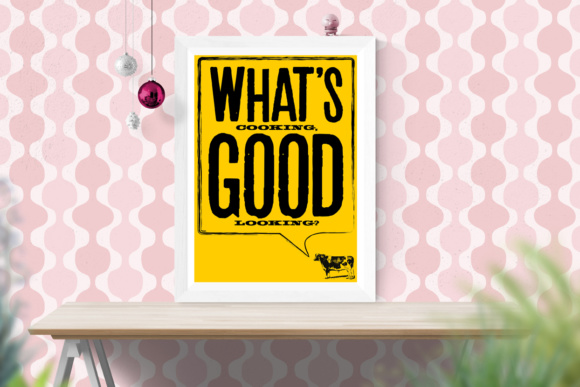 Print on Demand: Whats Cooking Good Looking? Graphic Crafts By GraphicsBam Fonts
