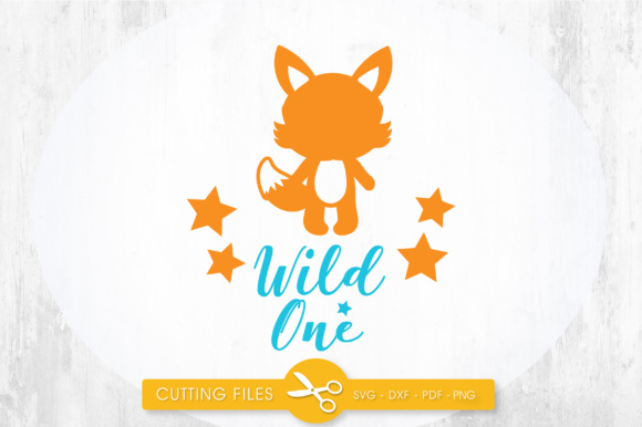 Download Free Wild One Fox Graphic By Prettycuttables Creative Fabrica SVG Cut Files