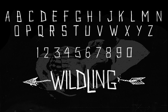 Print on Demand: Wildwildling Script & Handwritten Font By brnk1314 - Image 4