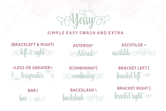 Print on Demand: Yessy Script & Handwritten Font By Situjuh - Image 5