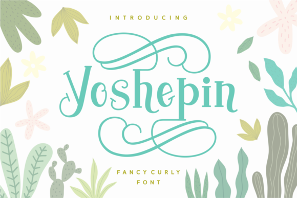 Print on Demand: Yoshephin Script & Handwritten Font By Keithzo (7NTypes)