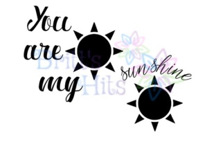 You Are My Sunshine Svg Graphic By Britt S Hits Creative Fabrica