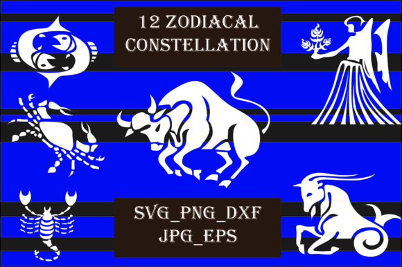 Zodiacal Constellation Graphic Crafts By Best_Store - Image 2