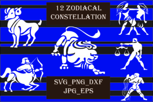 Zodiacal Constellation Graphic By Best_Store