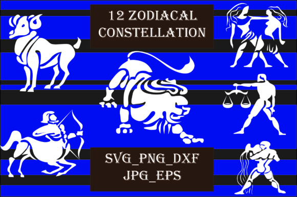 Zodiacal Constellation Graphic Crafts By Best_Store - Image 1