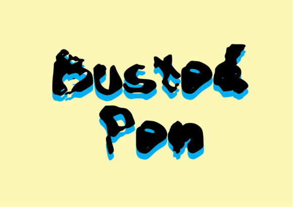 Download Free Busted Pen Font By Graphicsbam Fonts Creative Fabrica for Cricut Explore, Silhouette and other cutting machines.