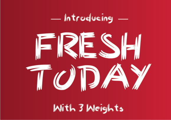 Print on Demand: Fresh Today Script & Handwritten Font By GraphicsBam Fonts