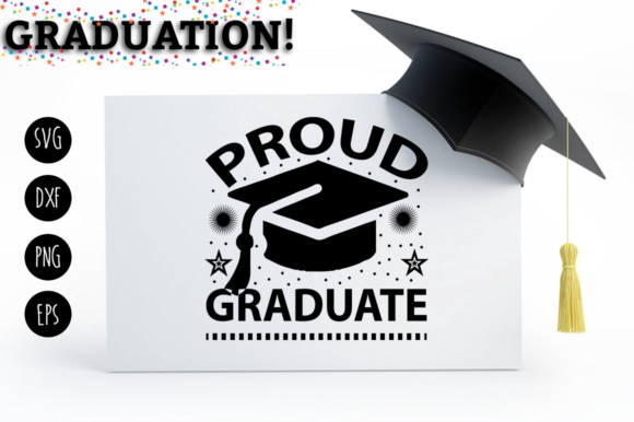 Print on Demand: 10 Graduation SVG/DXF/EPS/PNG Bundle Graphic Crafts By DesignFarm