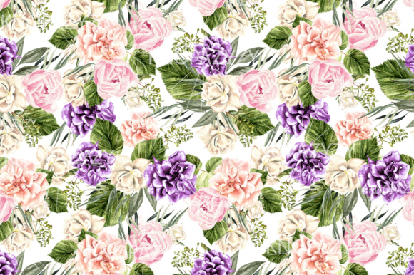 16 Watercolor Pattern Graphic Patterns By Knopazyzy - Image 17