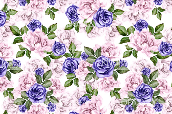 16 Watercolor Pattern Graphic Patterns By Knopazyzy - Image 3