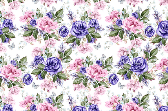 16 Watercolor Pattern Graphic Patterns By Knopazyzy - Image 4