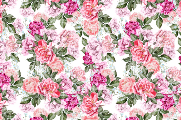 16 Watercolor Pattern Graphic Patterns By Knopazyzy - Image 5