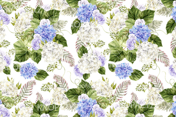 16 Watercolor Pattern Graphic Patterns By Knopazyzy - Image 7