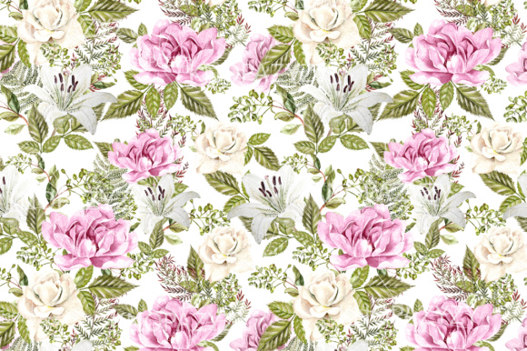 16 Watercolor Pattern Graphic Patterns By Knopazyzy - Image 8