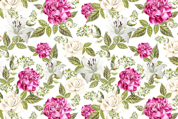 16 Watercolor Pattern Graphic Patterns By Knopazyzy - Image 9