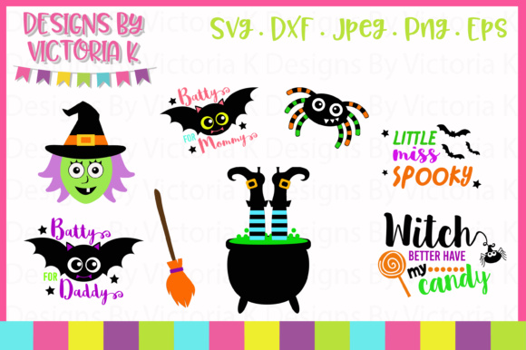 Download Free 7 Halloween Designs Svg Graphic By Designs By Victoria K for Cricut Explore, Silhouette and other cutting machines.