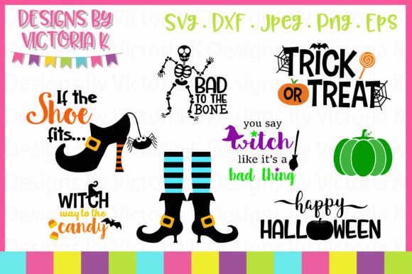 8 Halloween Designs Graphic Crafts By Designs By Victoria K