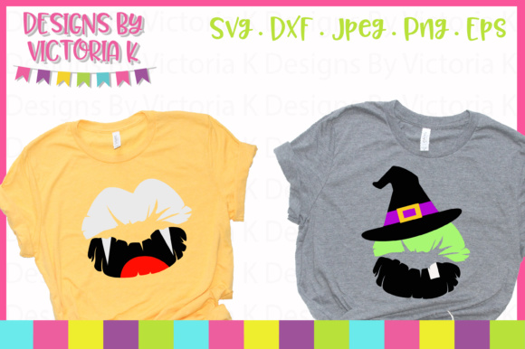 8 Halloween Lips SVG Graphic By Designs By Victoria K Image 2
