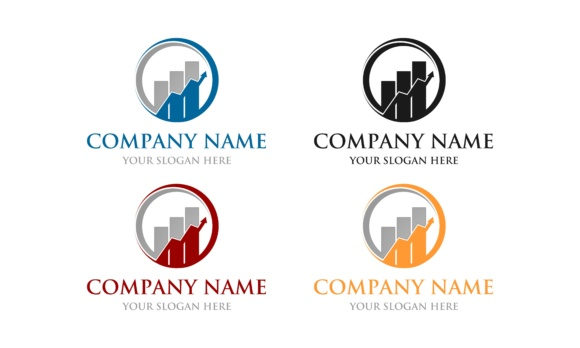 Download Free Accounting Financial Logo Vector Graphic Abstract Download for Cricut Explore, Silhouette and other cutting machines.