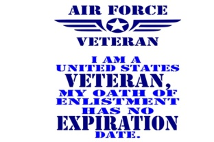 Air Force Veteran Graphic Crafts By Family Creations