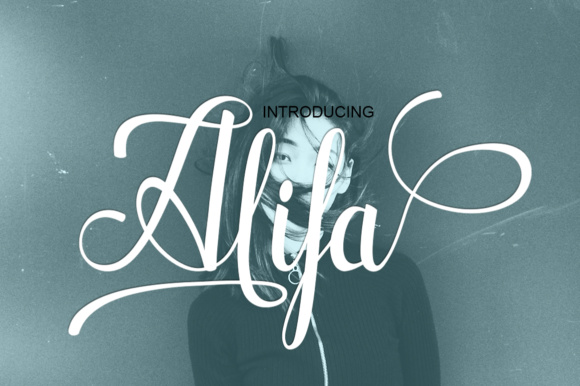 Print on Demand: Alifa Script & Handwritten Font By siwah.wah52