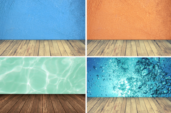Print on Demand: All About Backdrop Graphic Product Mockups By vito12 - Image 3