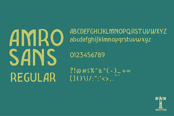 Amro Sans Family Font By inkstypia Image 5