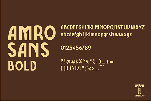 Amro Sans Family Font By inkstypia Image 7