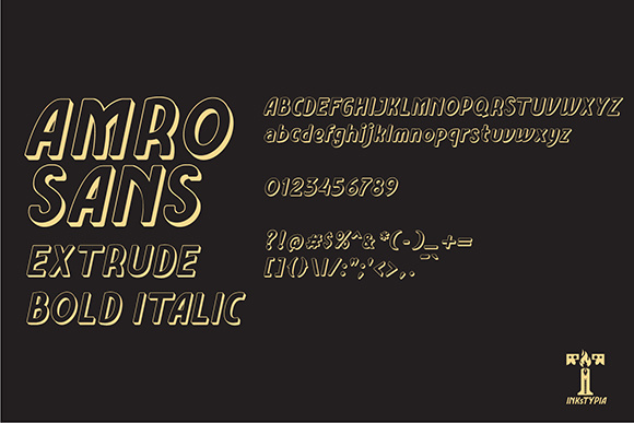 Amro Sans Family Font By inkstypia Image 10