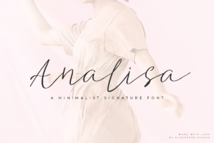 Print on Demand: Analisa Script & Handwritten Font By Eldertype Studio