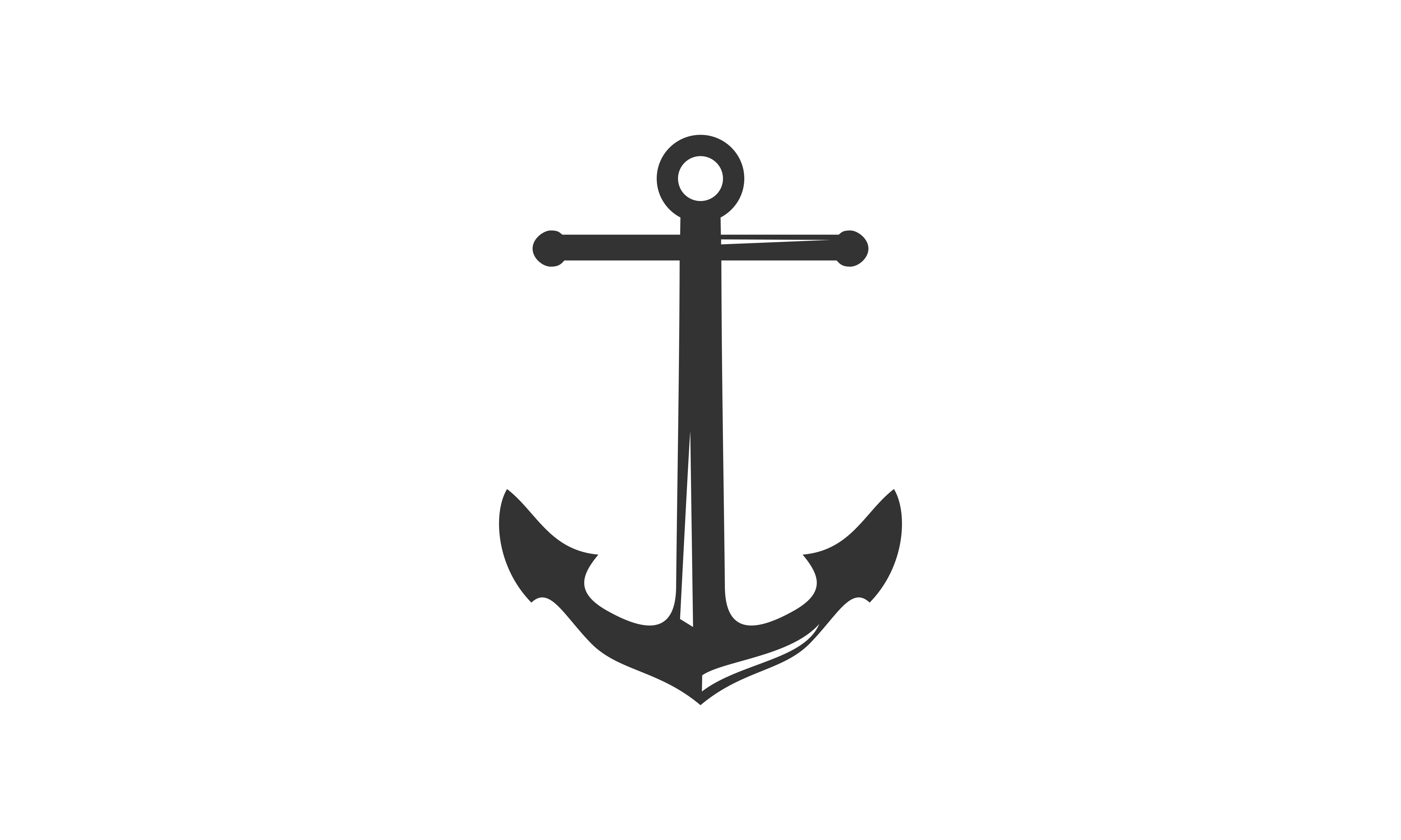 Anchor Template | Anchor Icon Logo Template Graphic By Mansel Brist Creative Fabrica