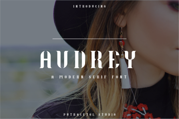 Print on Demand: Audrey Serif Font By putracetol