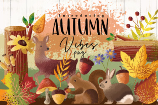 Autumn Vibes Graphic By Caoca Studios