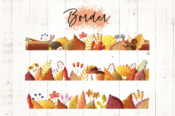 Print on Demand: Autumn Vibes Graphic Objects By Caoca Studios - Image 5