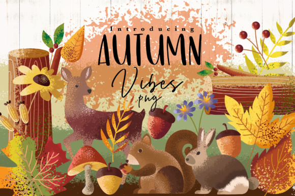 Print on Demand: Autumn Vibes Graphic Objects By Caoca Studios