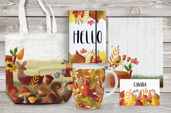 Print on Demand: Autumn Vibes Graphic Objects By Caoca Studios - Image 7