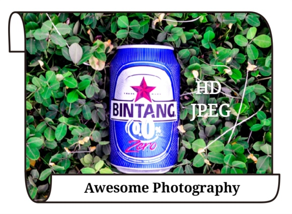 Awesome Photography - Bintang Beer Graphic Food & Drinks By widyaav