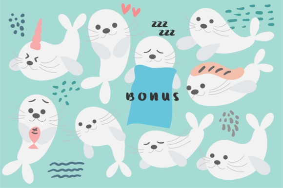 Print on Demand: Baby Seal Script & Handwritten Font By Caoca Studios - Image 3