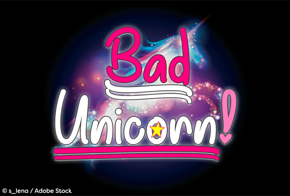 Print on Demand: Bad Unicorn Script & Handwritten Font By Misti