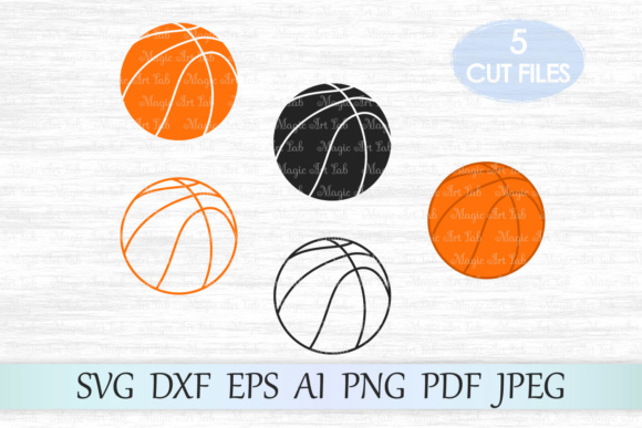Download Free Basketball Graphic By Magicartlab Creative Fabrica for Cricut Explore, Silhouette and other cutting machines.