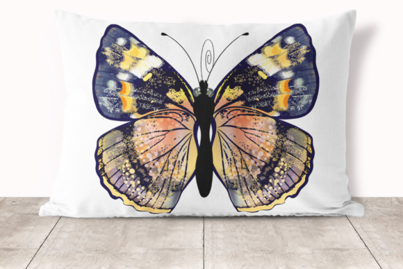 Beautiful Collection From12 High Detailed and Quality Butterflies. Graphic Item